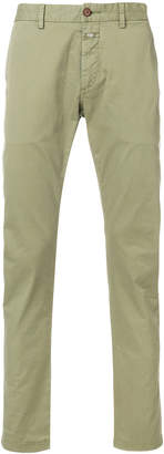 Closed casual fitted trousers