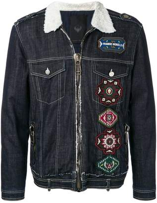 Frankie Morello patch denim jacket
