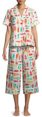 Kate Spade Flavor Of The Month Cropped Pajama Set
