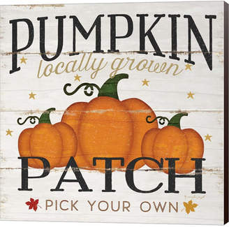 Pumpkin Patch Metaverse by Jennifer Pugh Canvas Art