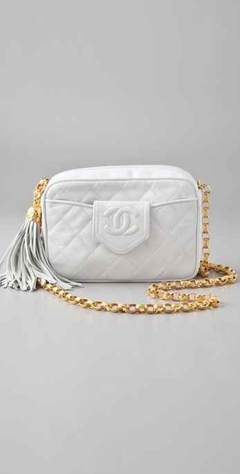 Wgaca Vintage Vintage Chanel '80s Oval Bag