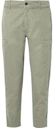 Folk Garment-Dyed Cotton-Twill Cargo Trousers