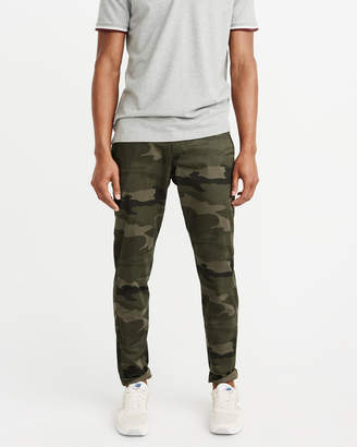 Abercrombie & Fitch Super Skinny Camo Chino Pants