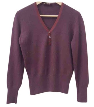 Loro Piana Red Cashmere Knitwear for Women
