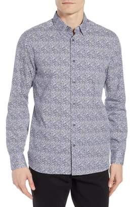Ted Baker Celnor Trim Fit Print Sport Shirt