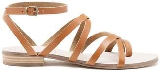 Koko Strappy Flat Sandal $79.95 thestylecure.com
