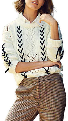 Vero Moda Aneta Lace-Up Sweater