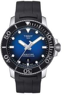 Tissot T-Sport Seastar 1000 Powermatic 80 Rubber-Strap Watch