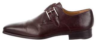 Magnanni Leather Pointed-Toe Oxfords