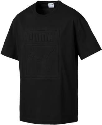 Archive Embossed Print Men's Short Sleeve T-Shirt