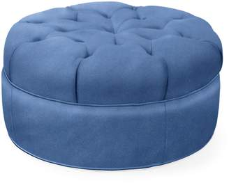 Serena & Lily Hingham Tufted Ottoman - 27""