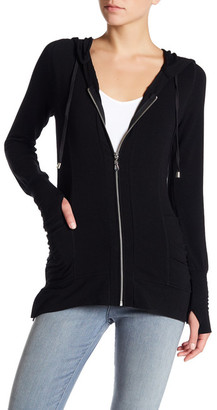 Cable & Gauge Long Sleeve Slouch Pocket Jacket $68 thestylecure.com