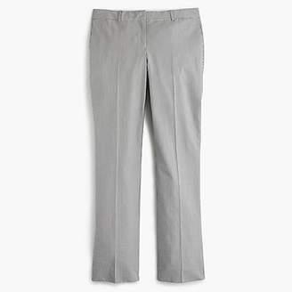 J.Crew Tall cropped trouser in seersucker