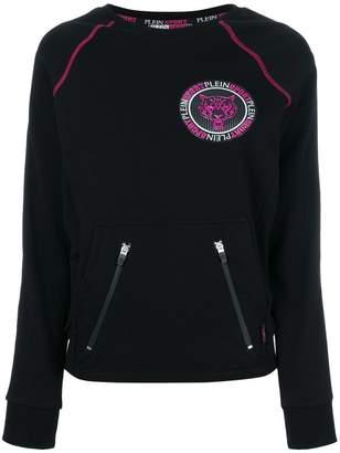 Plein Sport logo plaque sweatshirt