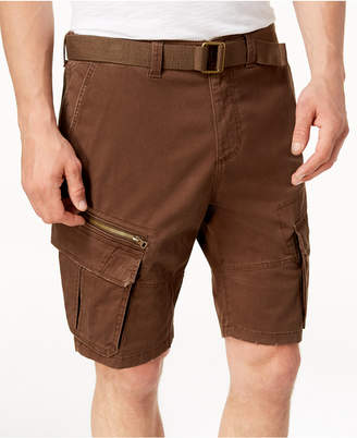 American Rag Men's Belted Slim Cargo Shorts