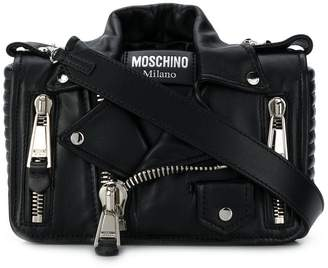 Moschino medium biker shoulder bag