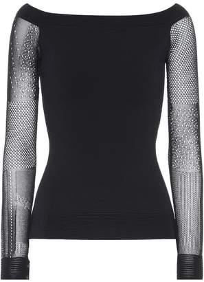 Roland Mouret Leafield long-sleeved top