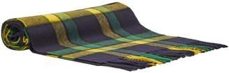 Joshua Ellis Tartan cashmere scarf