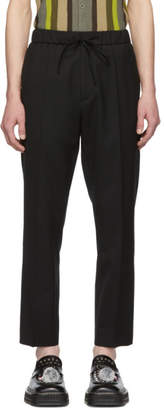 Cmmn Swdn Black Drawstring Stan Trousers