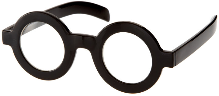 ASOS Flat Round Geeky Specs