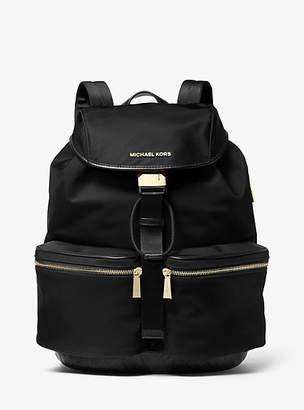 Michael Kors Perry Large Nylon Gaberdine Backpack