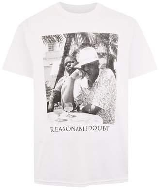 Topman Mens White Jay Z and Biggie Smalls T-Shirt