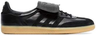 adidas Black Samba Recon LT leather sneakers