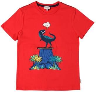 Paul Smith Volcano Print Cotton Jersey T-Shirt