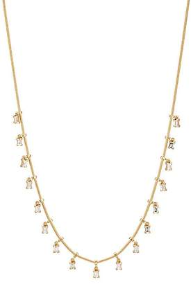 Ileana Makri Women's Baguette Fringe Necklace