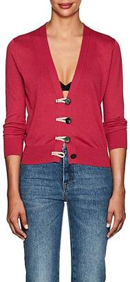 Altuzarra Women's Button-Detailed Silk-Cotton Cardigan