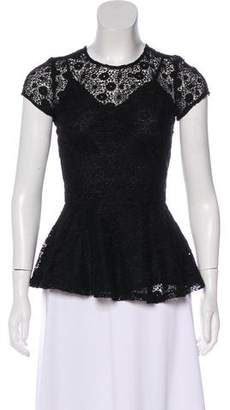 Miguelina Lace Short Sleeve top