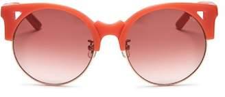 E.m. Pared Eyewear Women's Up & At Oversized Round Sunglasses, 55mm
