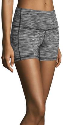 Xersion Womens High Waisted Shortie Short-Tall