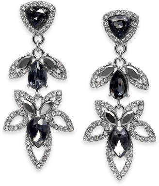 INC International Concepts I.N.C. Crystal Open-Work Drop Earrings, Created for Macy's