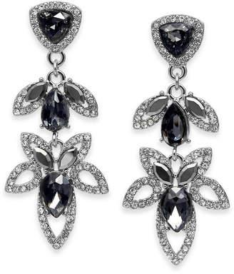 INC International Concepts I.n.c. Crystal Open-Work Drop Earrings