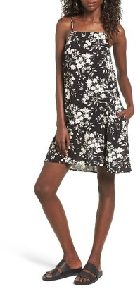 Women's Mimi Chica Print Lattice Back Dress $39 thestylecure.com