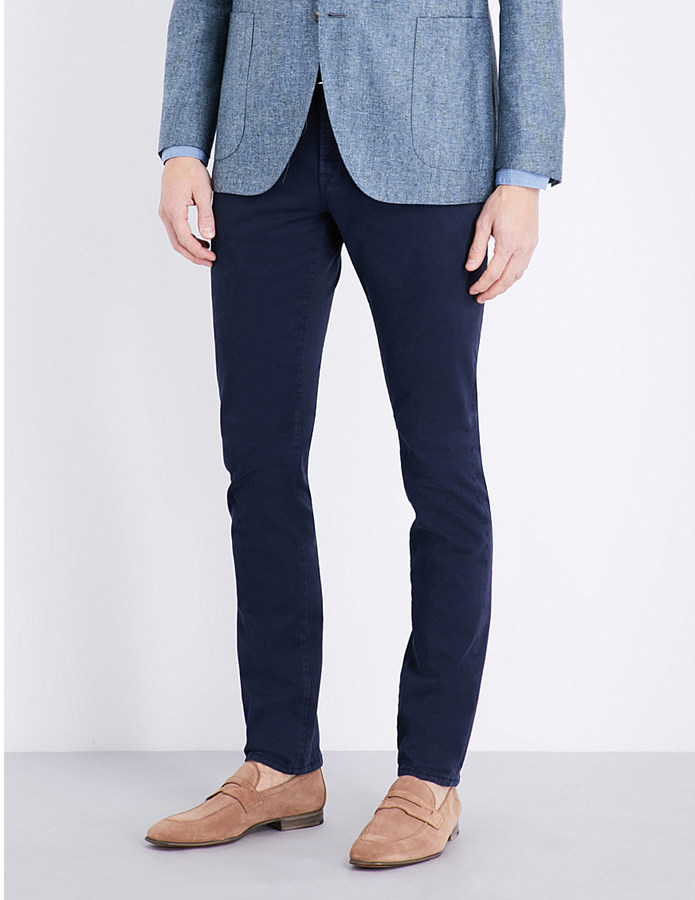 BoglioliBoglioli Mid-rise slim-fit jeans