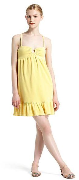 Juicy Couture Smocked Terry Dress
