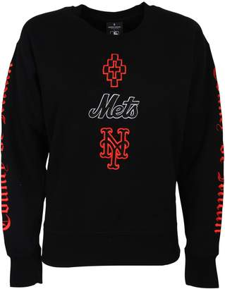 Marcelo Burlon County of Milan Mets Embroidered Sweatshirt