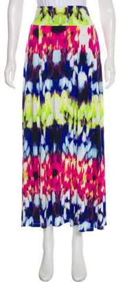 Milly Printed Maxi-Skirt.