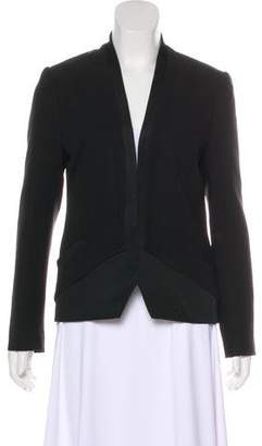 Haute Hippie Silk Long Sleeve Blazer