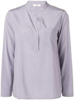 Peserico open collar shirt
