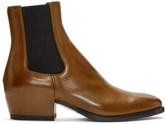 Givenchy Brown Chelsea Boots