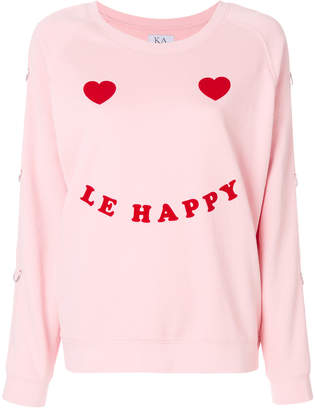 Zoe Karssen Be Happy sweatshirt