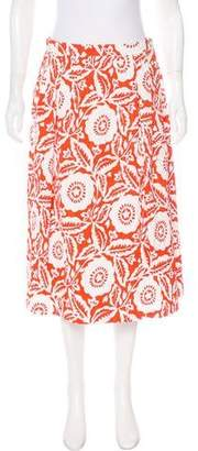 Michael Kors Textured Floral Skirt w/ Tags