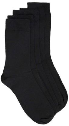 Men's Topman 5-Pack Branded Socks $20 thestylecure.com