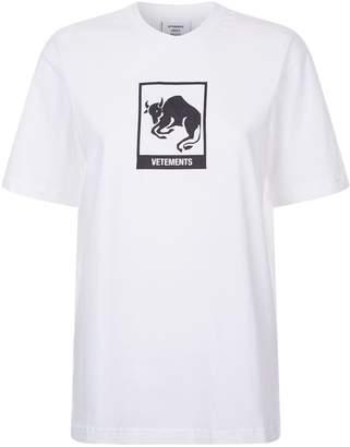 Vetements Taurus Horoscope T-Shirt