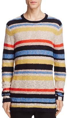 Scotch & Soda Stripe Crewneck Sweater $125 thestylecure.com