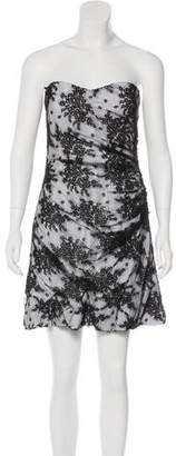 Dolce & Gabbana Strapless Lace Dress w/ Tags