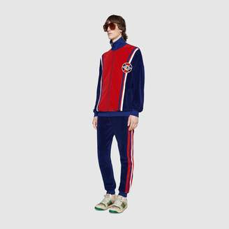 Gucci Chenille jogging pant with Web
